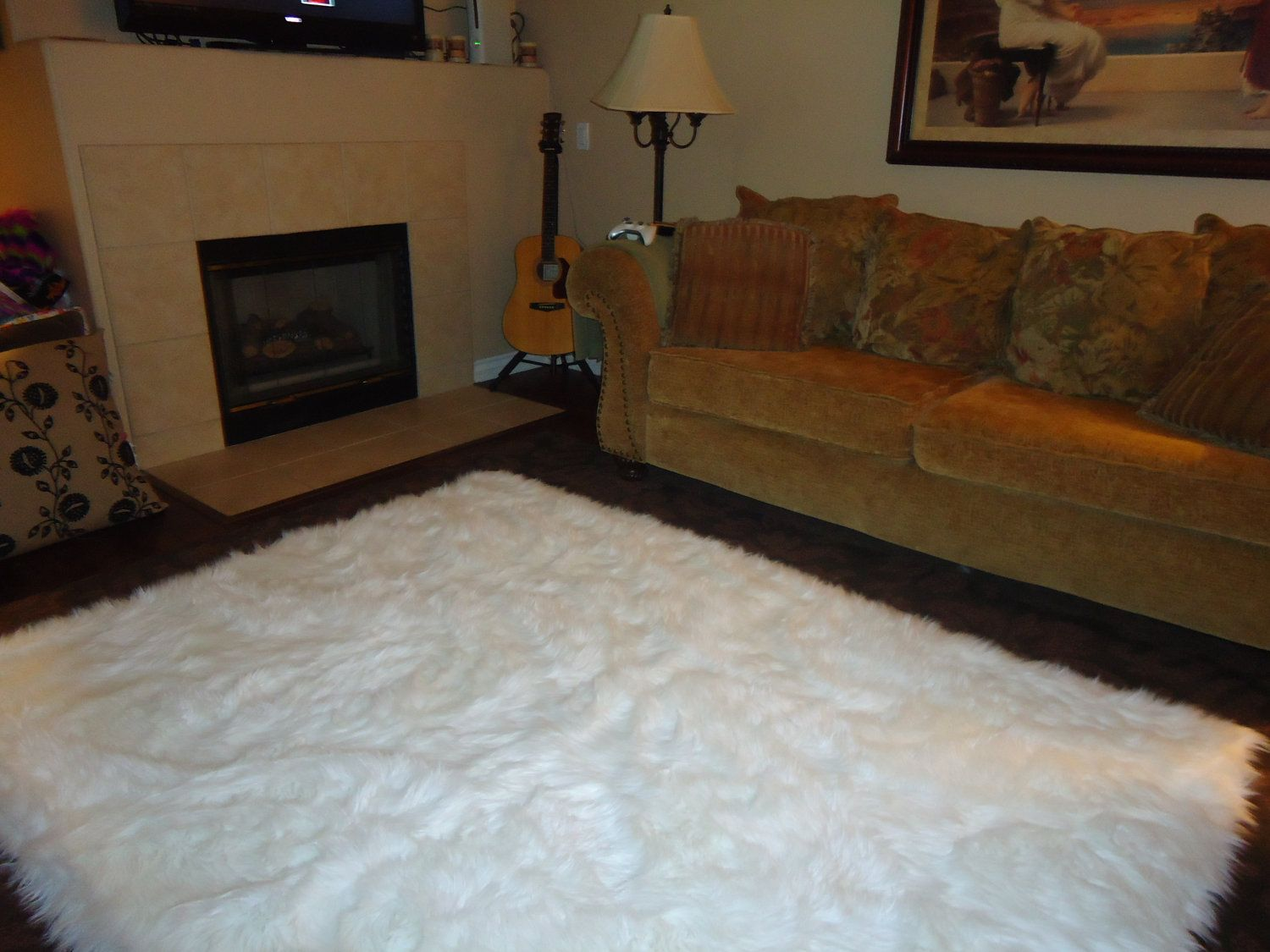 5 X 7 Shaggy Snow White Faux Fur Sheep Skin Accent Rug 149 00