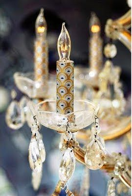 Change the sleeves on your chandelier or candle sticks diy change the sleeves on your chandelier or candle sticks aloadofball Choice Image
