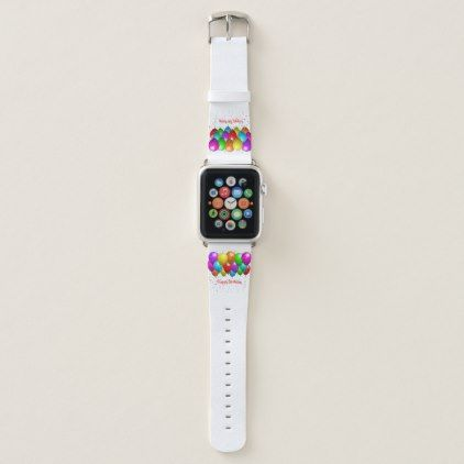 Happy Birthday Apple Watch Band Kids Birthday Gift Idea