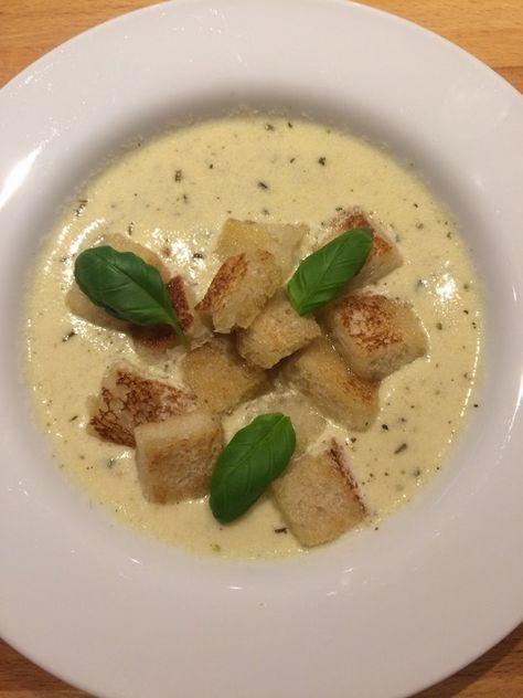 Allgäuer Käsesuppe mit Kräutern #seafoodstew