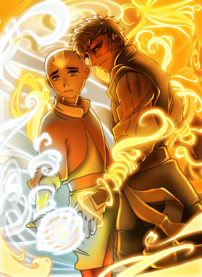 +A Fire Inside+ Aang + Zuko by dou-hong.deviantart.com | A ... Zuko And Aang Yaoi