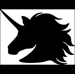 Unicorn Head Silhouette Free Svg Turtle Silhouette Silhouette Head Unicorn Eyes