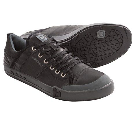 Merrell Rant Evo Shoes - Leather (For Men) in Black