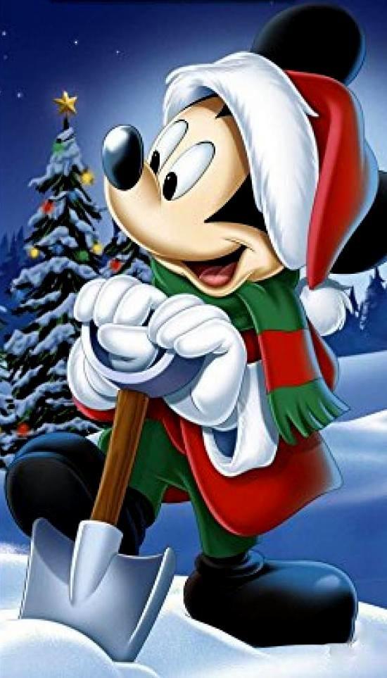 Christmas Disney Mickey Mouse Mickey Mouse Pinterest Noel