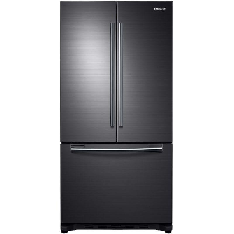 Samsung Rf20hfenb 32 Inch Wide 20 Cu Ft French Door Refrigerator