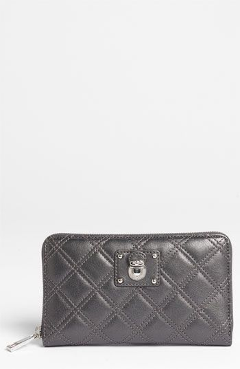 MARC JACOBS 'Quilting Hudson' Leather Wallet available at #Nordstrom