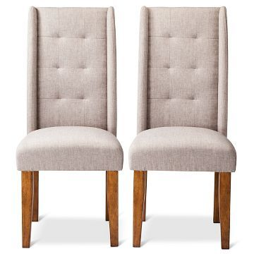 Charlie Pin Tuck Dining Chair Set Of 2 Colored Dining Chairs