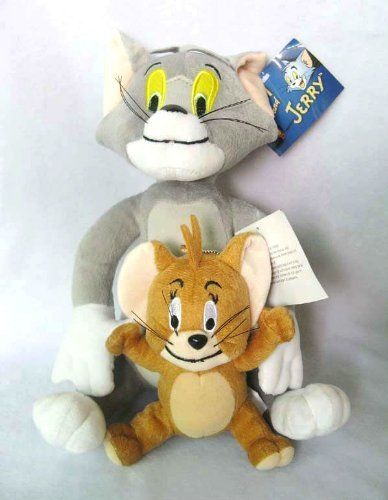 New Tom and Jerry Soft Plush Toy Doll Cute