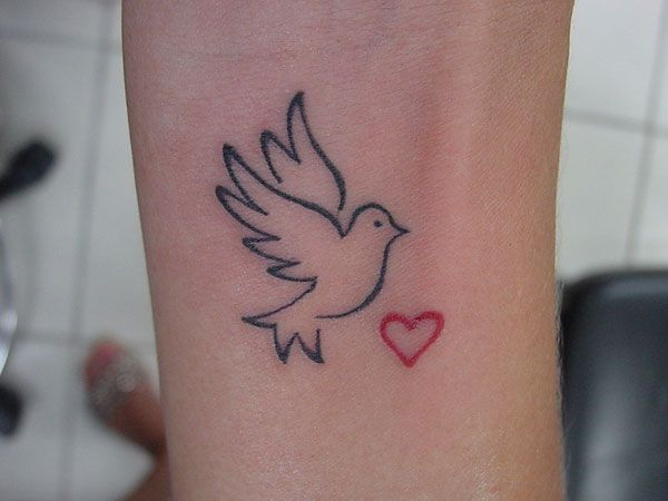 with fingerprint in white ink tattoo ideas pinterest white ink tattoo and bird outline. Black Bedroom Furniture Sets. Home Design Ideas
