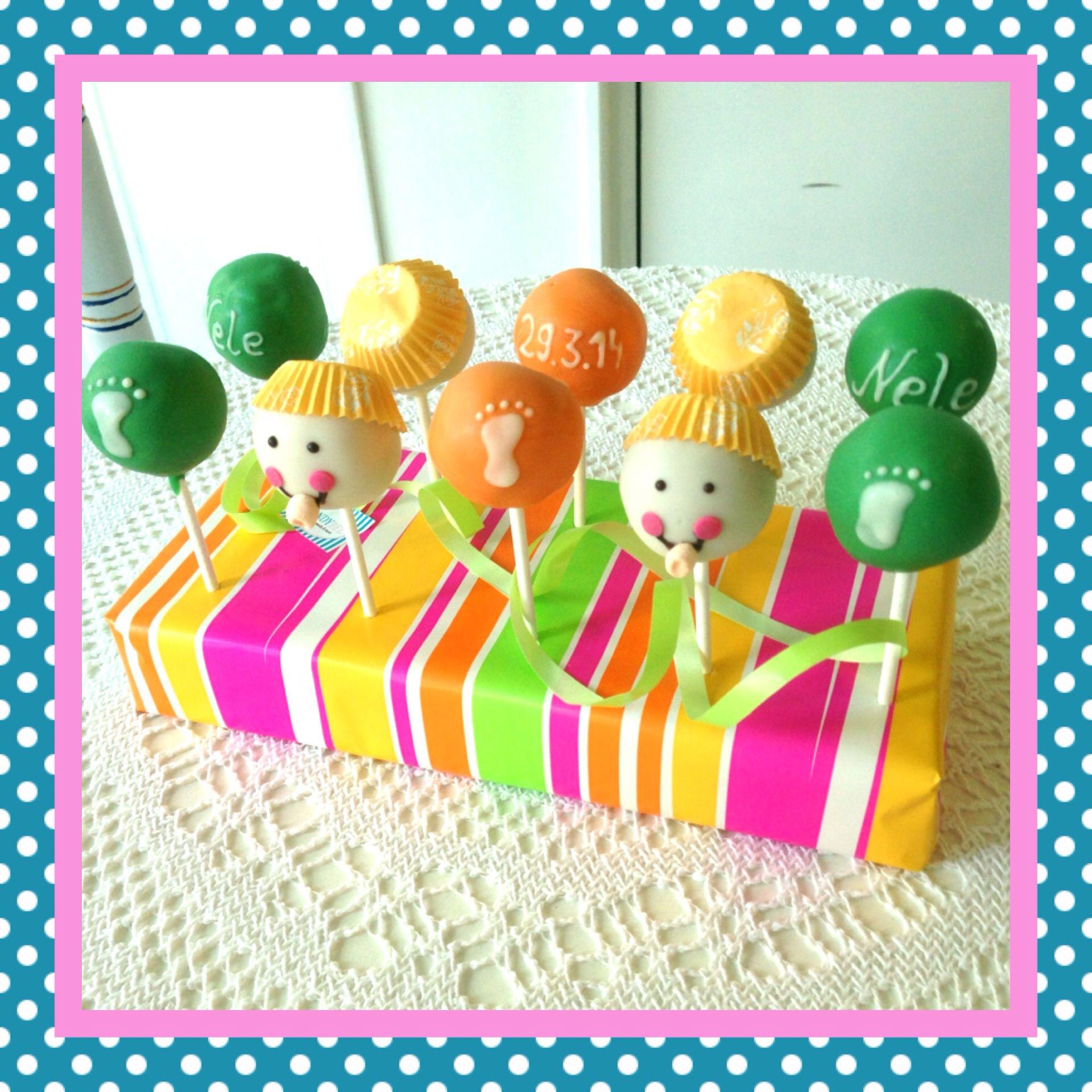 Bunter Baby Cake Pops Mix  #sandybel #cakepops #baby