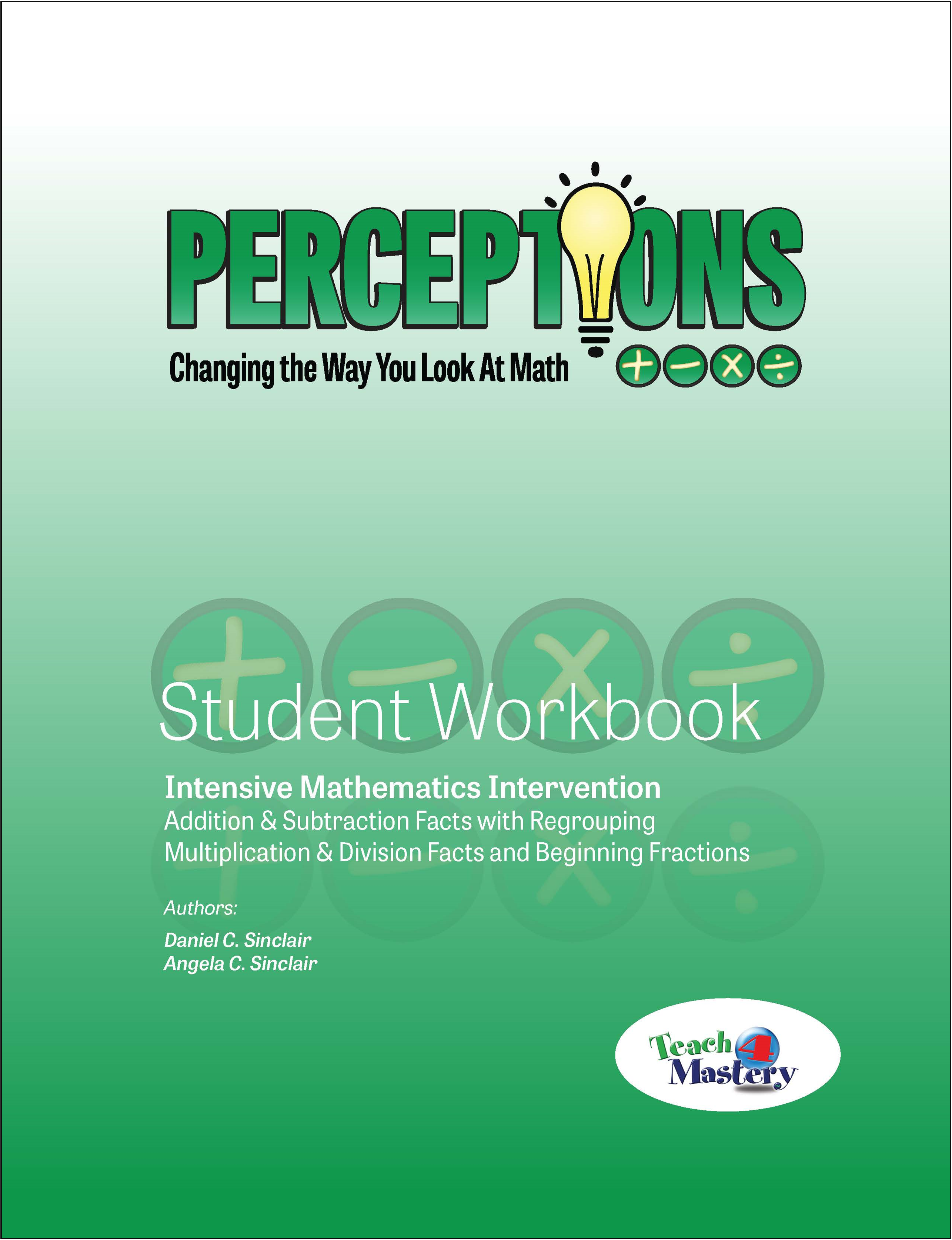 Perceptions GREEN Student Workbook ~ Great for Summer School and ...