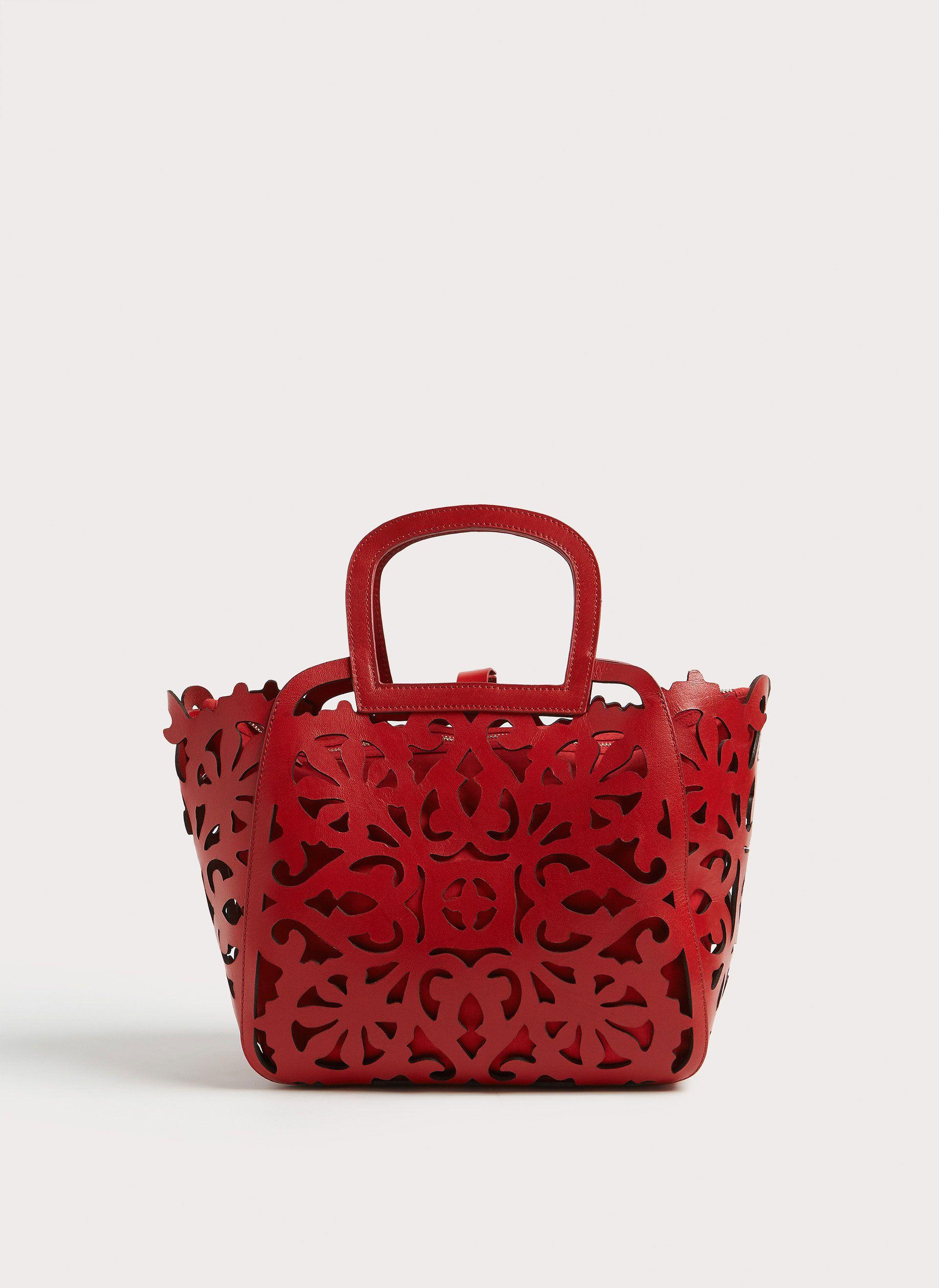 Bolso RojoBolsos TroqueladoShoesamp; Bags Y Piel Zapatos Shopper tQdrxhCs