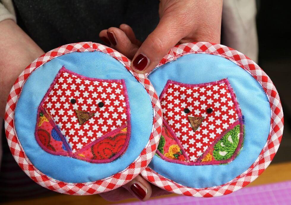 Easy Potholders for Children | Pinterest | Potholders, Sewing ...