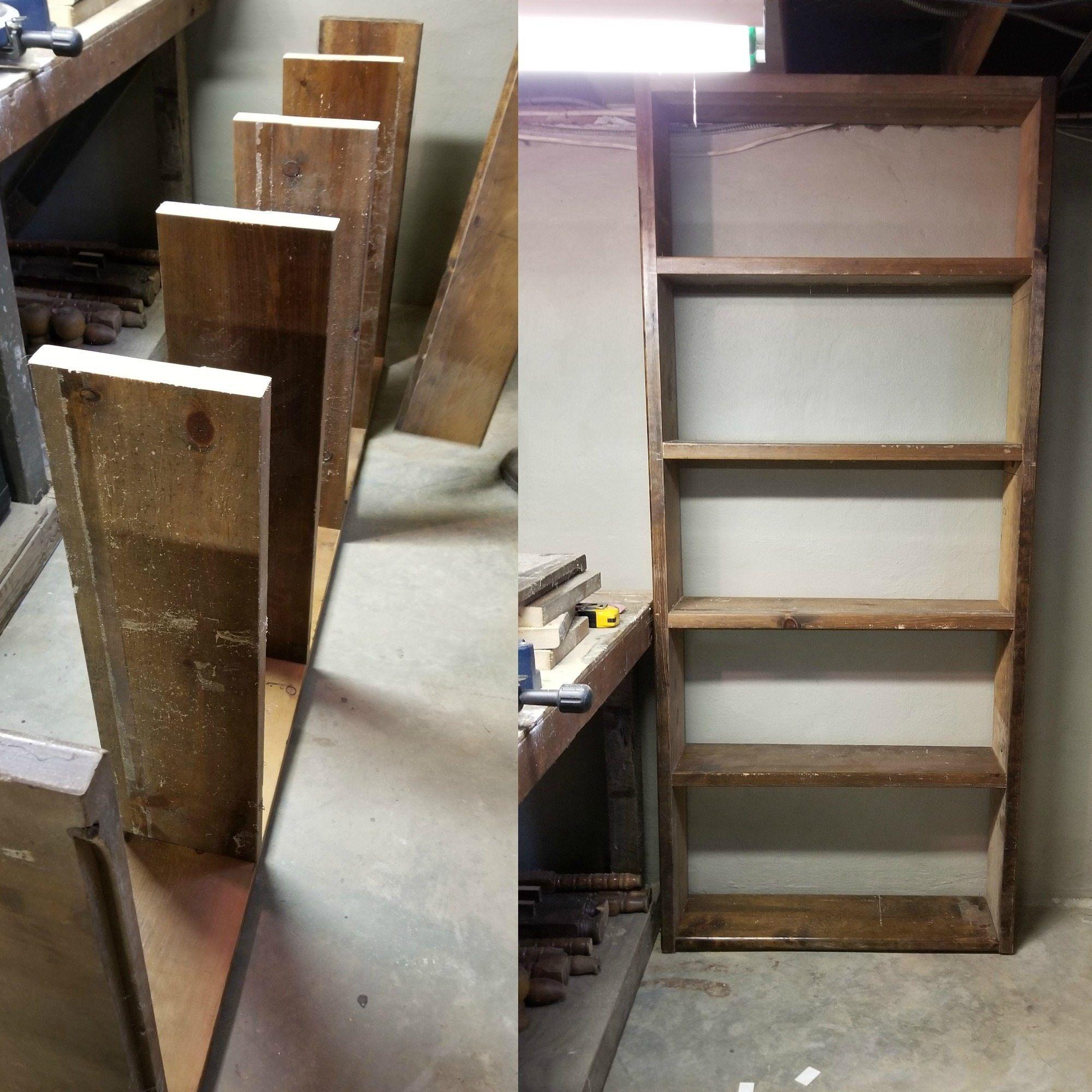 Easy Build Storage Shelf For The Basement Shop