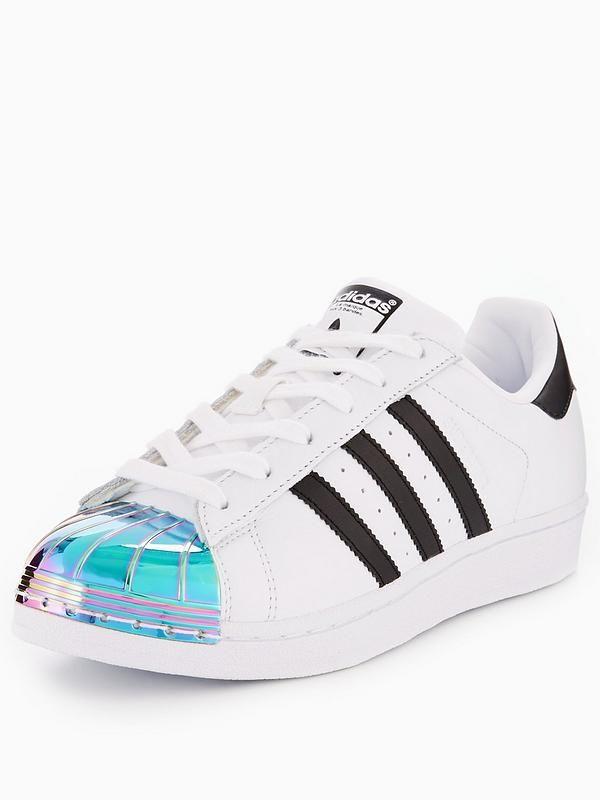Adidas Nero Originali Di Metallo Bianco / Nero Adidas Maya Alla Pac Superstar b169f1