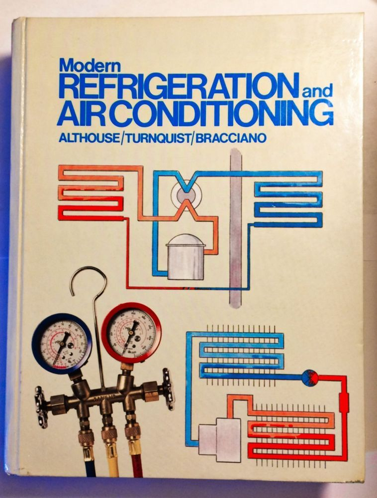 Modern Refrigeration and Air Conditioning Hardcover