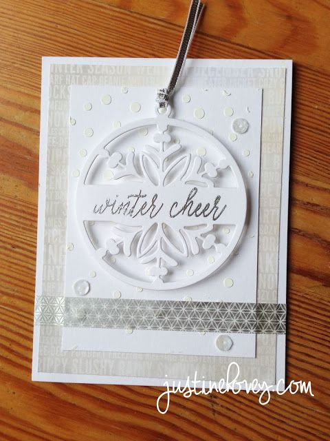 12 Days of Christmas *Day 10* Hero Arts + Giveaway | Justine's Cardmaking