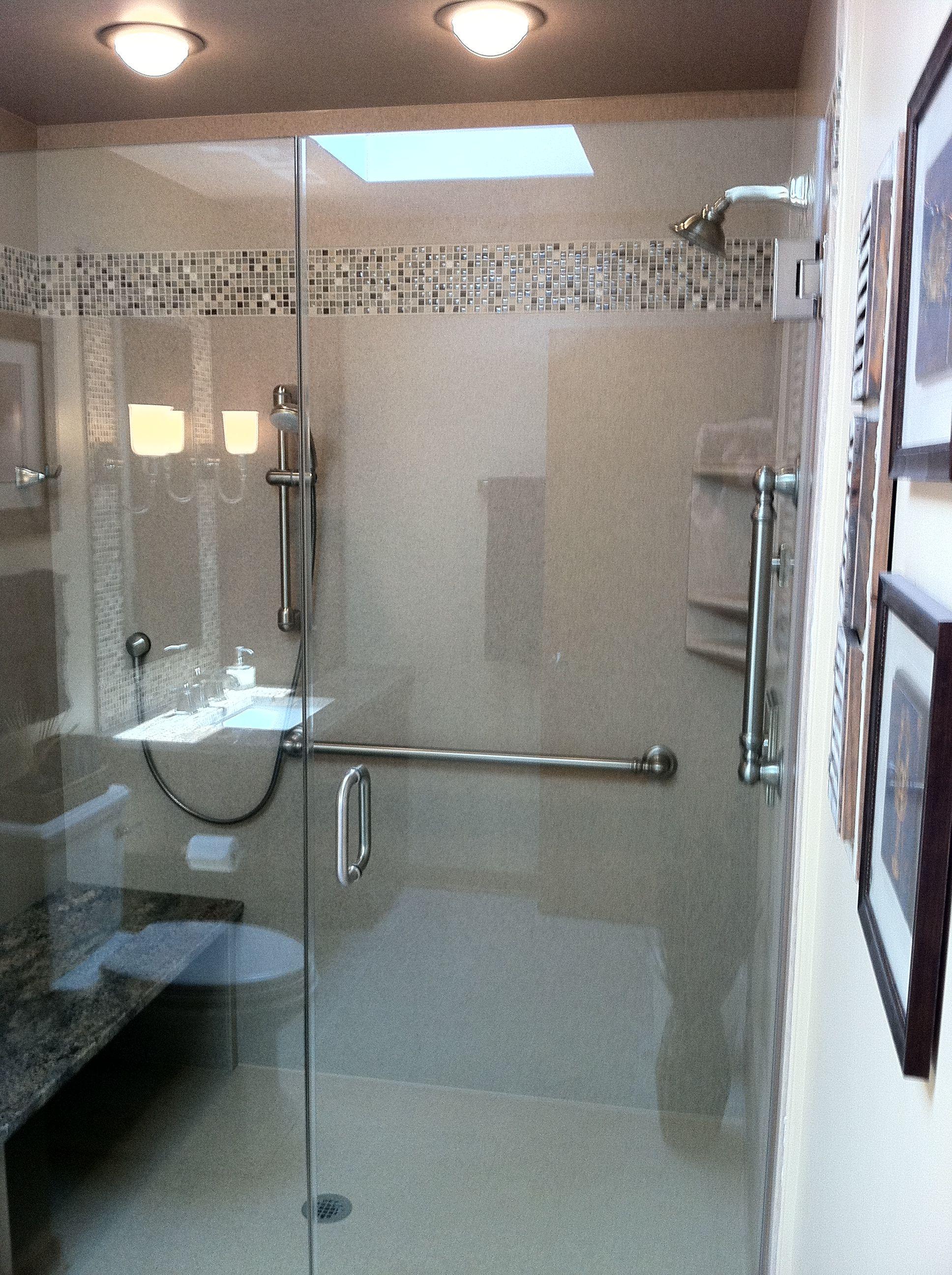 Sagentbuilders Com Solid Surface Shower Surround With Tile