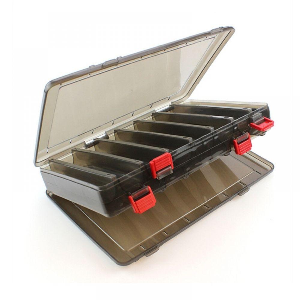 Boîte de Stockage Rangement pour Leurre Appât de Pêche Tackle 10 Compartiments