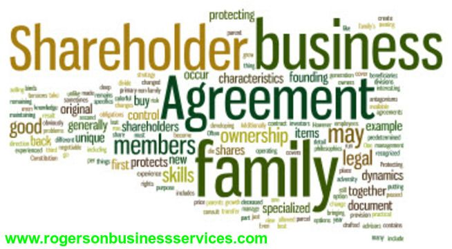 Shareholder Agreement Protects Family Business As A Family
