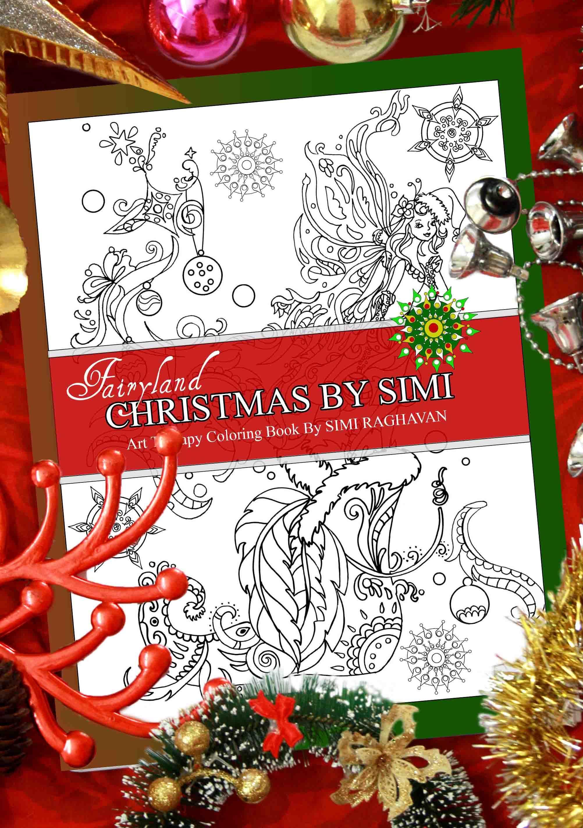 Fairyland Christmas By Simi Coloring BooksAdult