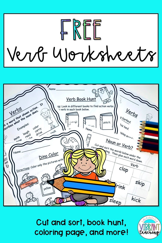 Verb Worksheets Free Writing Teaching Resources Elementary Writing Worksheets Free [ 1440 x 960 Pixel ]