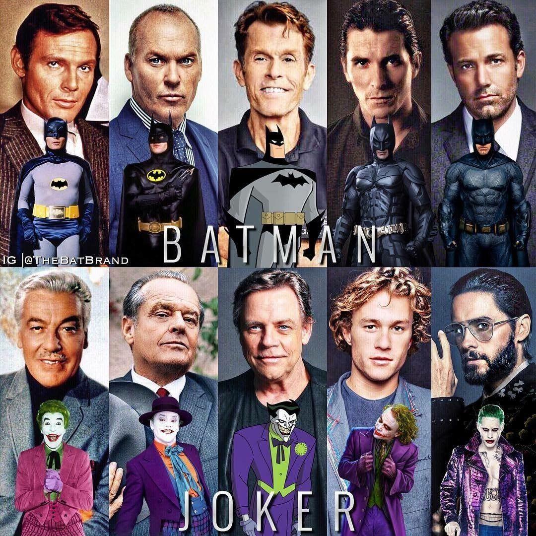 Batman & Joker Actors