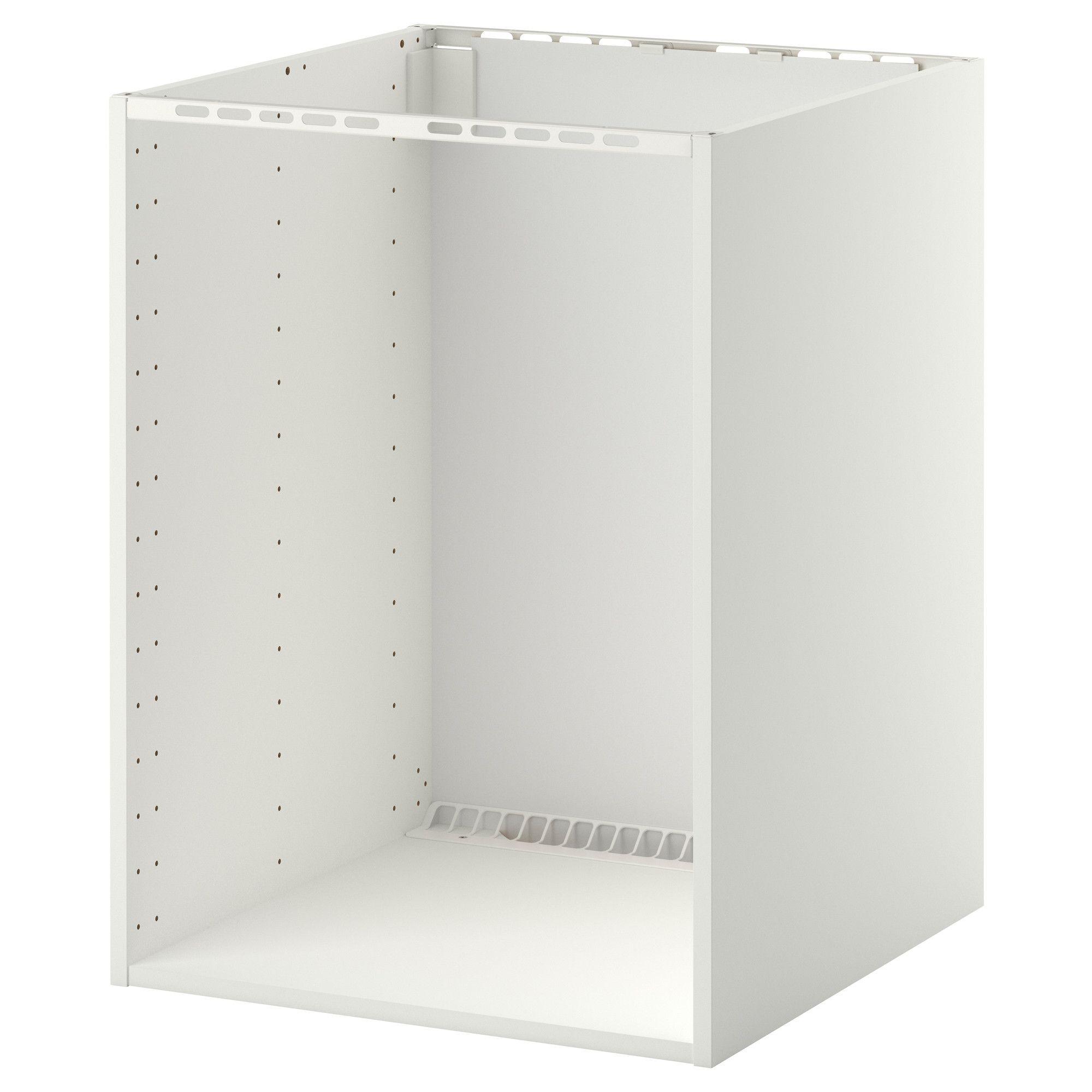 Metod élément Bas Pr Fourévier Encastré Blanc 60 X 60 X 80 Cm