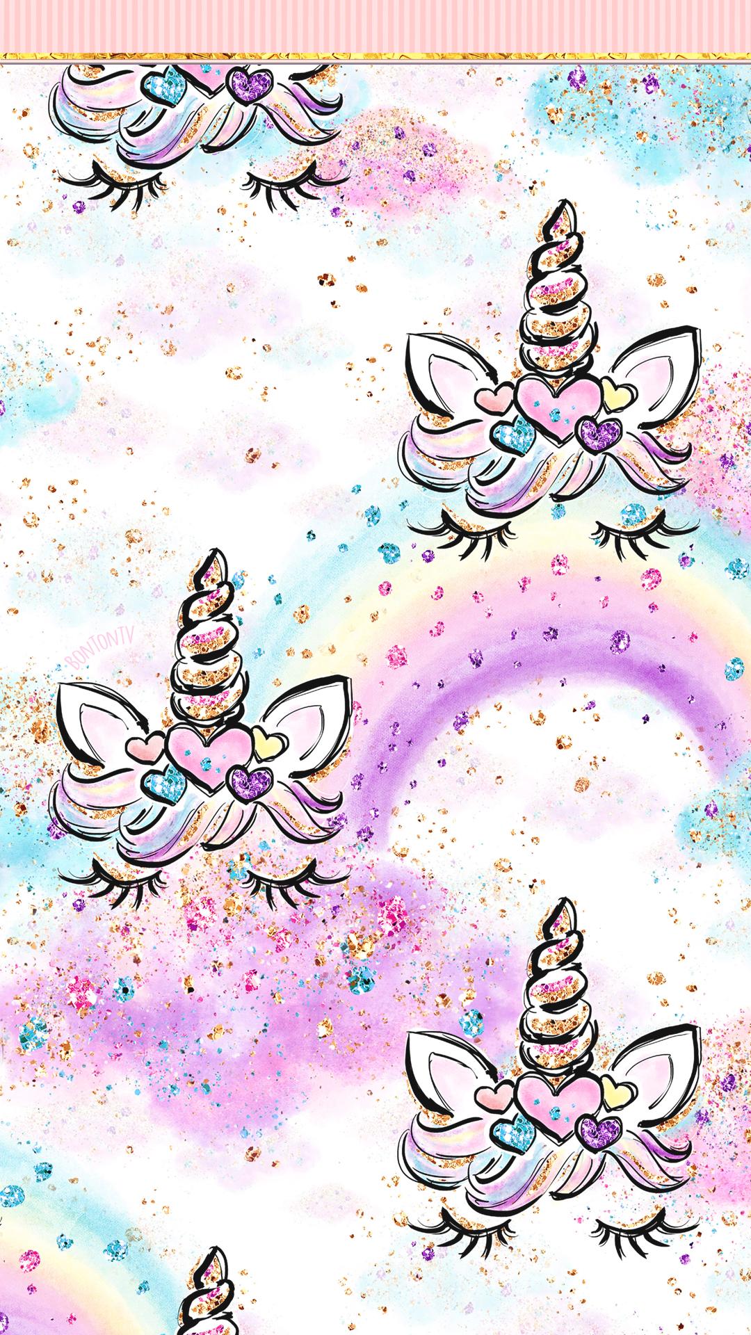 Phone Wallpapers Hd Cute Unicorn Glitter Art By Bonton Tv Free Backgrounds 1080x192 Iphone Wallpaper Unicorn Unicorn Wallpaper Cute Glitter Phone Wallpaper