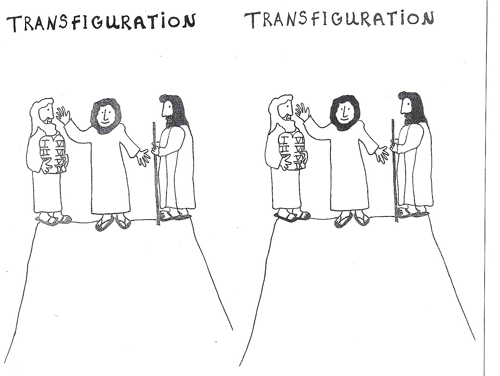 Transfiguration Transfiguration Of Jesus Bible Lessons Luke 9