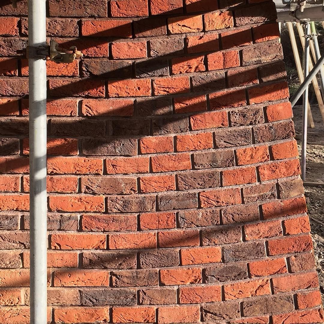 Wilfully Wonky One Of The New Brick Buttresses For Our Foxglove Project Adrian James Architects Architecture Design Brick Buttress Bricks Brickwork Ma