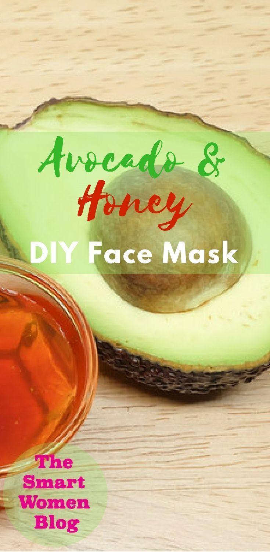 Avocado honey diy face mask facemask diy