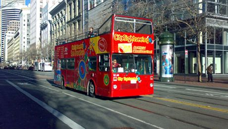 City Sightseeing's Hop-on Hop-off Double Decker Bus Tour: Downtown Loop @ City Sightseeing (San Francisco, CA)