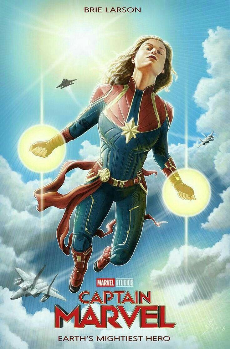 captain marvel 2019 movie poster captainmarvel marvel