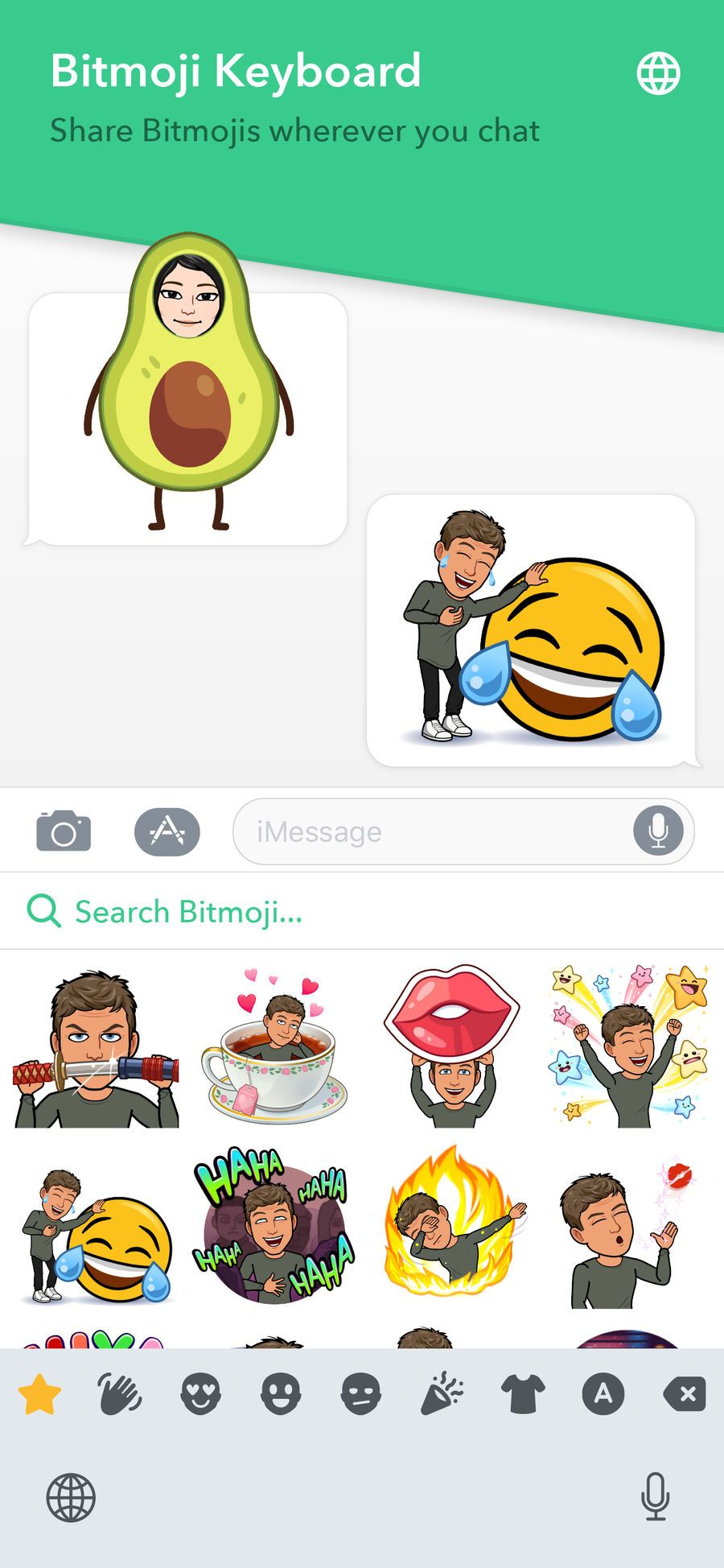 Bitmoji on the App Store Card games, Ipod, Ipod touch