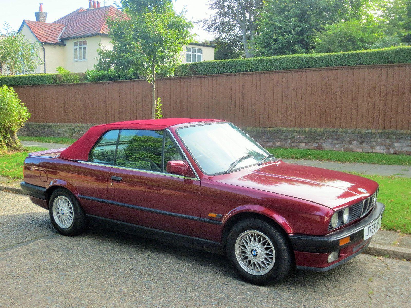 BMW E30 318i Cabriolet, Convertible, Sport Interior PX E24 E34 ...