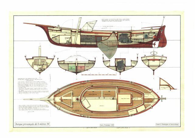 barque proven ale architecte daniel z bombigher voile classique pinterest bateaux barque. Black Bedroom Furniture Sets. Home Design Ideas