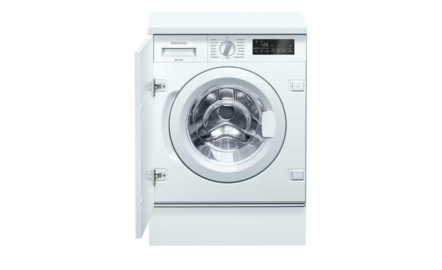 Siemens Waschvollautomat Vollintegrierbar Wi 14 W 440 Gefunden Bei Mobel Kraft Siemens Waschmaschine Einbaugerate Metall Lackieren