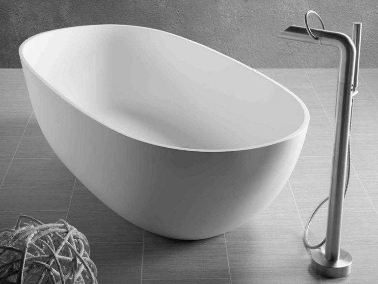 Vasca Da Bagno Resina : Dubai by jee o vasca da bagno ovale centro stanza in resina