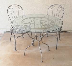 """$175 phoenix furniture - by owner """"bistro table ..."""