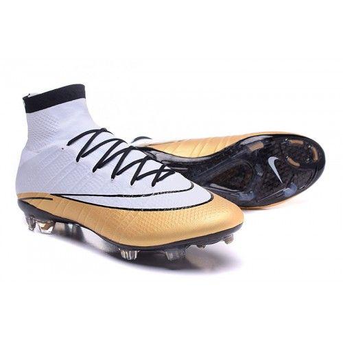 brand new 7c52a 76b94 Outlet Kopačky Nike Mercurial Superfly CR7 FG Bílý Golden ...