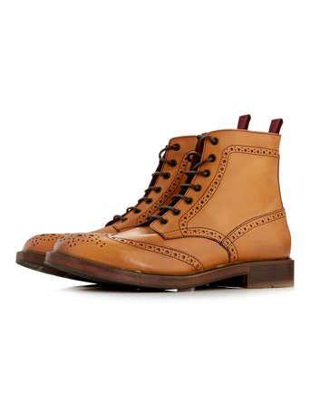 dune brogue boots  brogue boots boots dune shoes