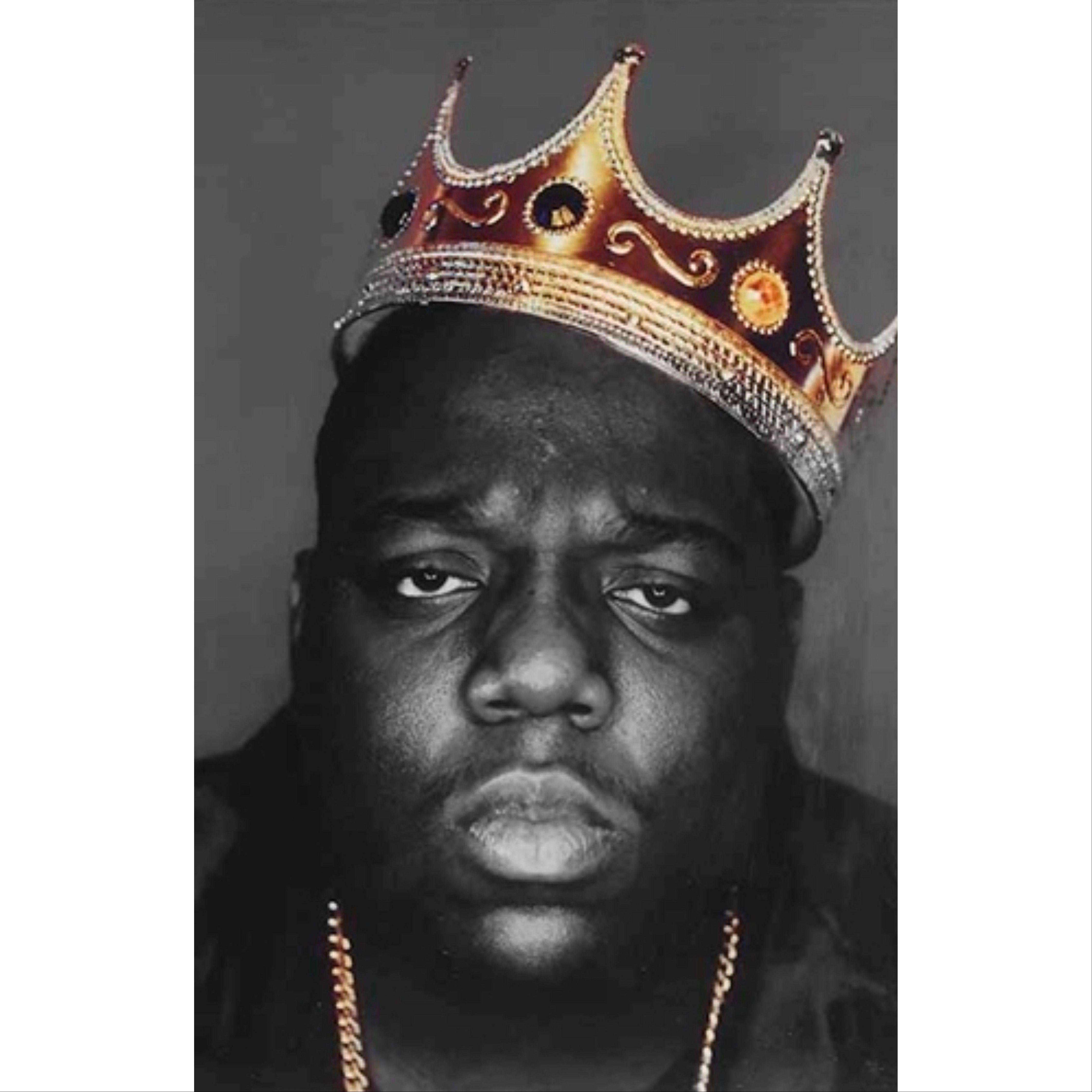 Notorious B I G Biggie Smalls Gold Crown Poster 24 X 36 Biggie Smalls Art Notorious Big Tattoo Biggie Smalls Poster #17 poster mural notorious big biggie smalls rap hip hop 40x40 inch (100x100 cm) 8mil paper. pinterest