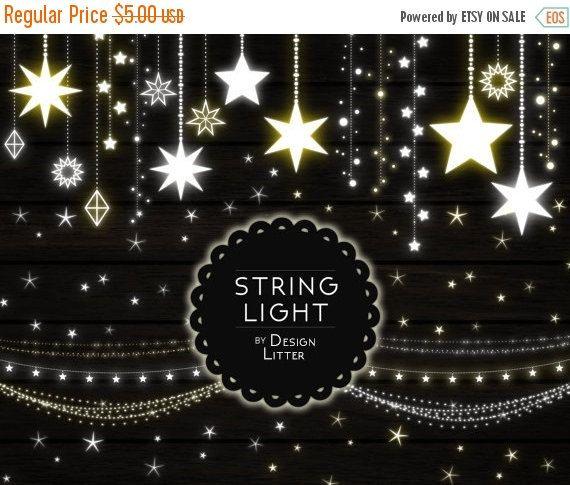 Pearl Weihnachtsbeleuchtung.80 Bis Neujahr Lichter Clipart Lichter Streicher Clipart Png