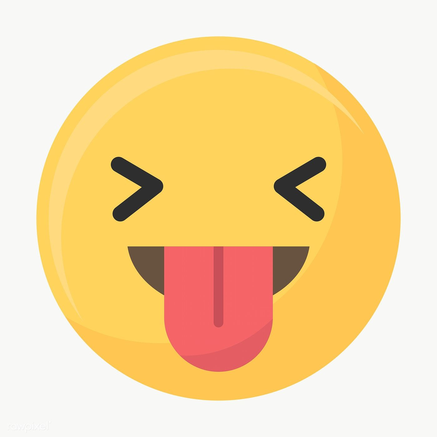Stuck Tongue Out Face Emoticon Symbol Transparent Png Premium Image By Rawpixel Com Minty Emoticon Laughing Face Web Design Resources