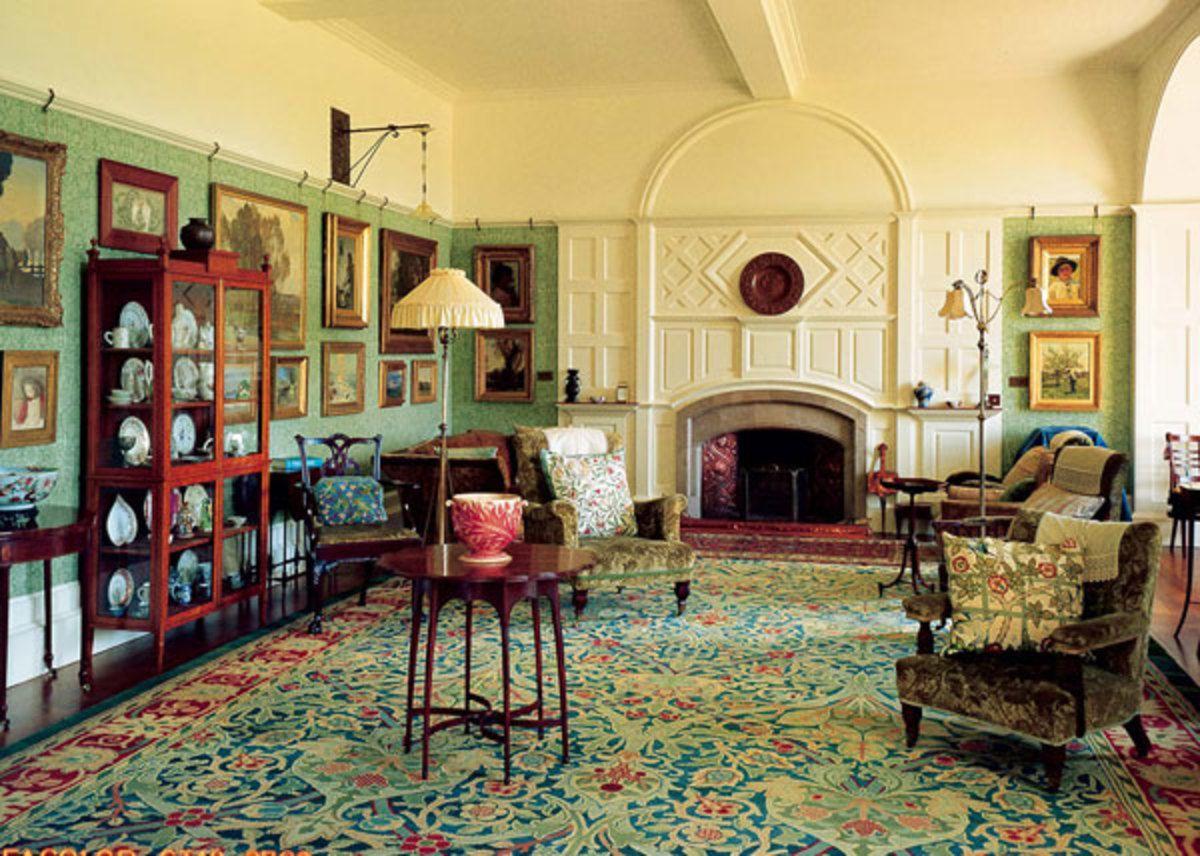 1891 Interior By William Morris