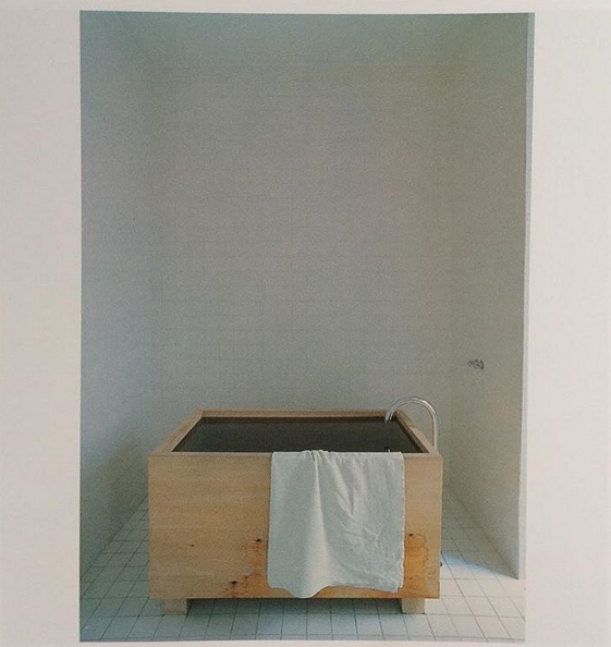 John Pawson, dream tub