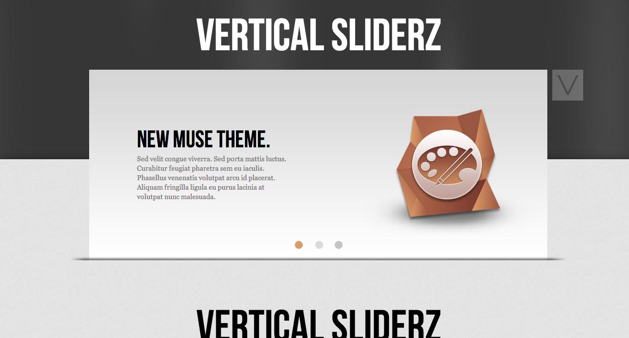 Slider designs for Adobe Muse  #Website #Web #Design #Style | Big