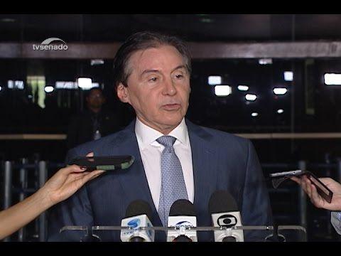 Eunício afirma que governo não influenciou devolução da MP do Refiz para...