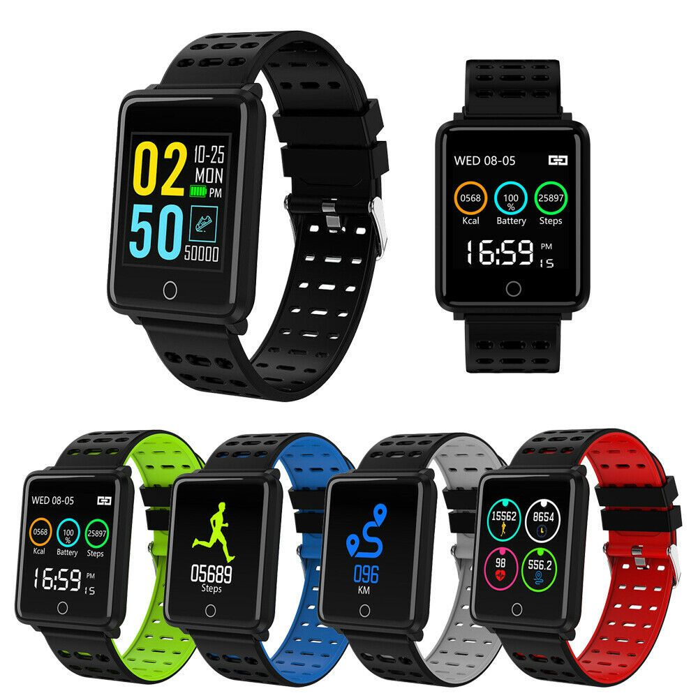 Tracker Activity Smart Watch Band Heart Rate Oxygen Blood Pressure Fitness Sport - Fitness Watch - I...